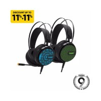 232 Armaggeddon 7.1 Surround Sound RGB Gaming Headset Nuke 7 Garansi 1