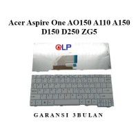 Keyboard Acer Aspire One AO150 A110 A150 D150 D250 ZG5 - White