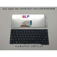 Keyboard Acer Aspire One AO150 ZG5 A110 A150 D150 D250 - Black