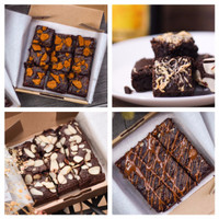 Special WHEY brownies 4 BOX (buy 3 get 1) - MIX