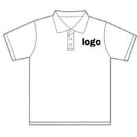 ongkos custom logo / merek polo shirt atau kaos pakai polyflex korea
