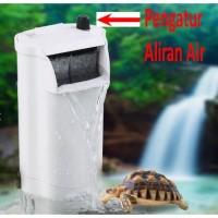 Filter Kura Kura / Turtle Low Water Filter warna putih