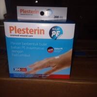 PLESTERIN BULAT PE