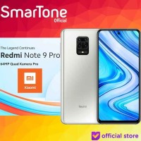 MI Redmi Note 9 Pro 8GB128GB 8 128 8/128 GB Garansi Resmi XIAOMI WHITE