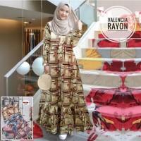 Gamis Valencia Gamis Rayon Adem Gamis Motif Gamis Terbaru Maxi Dress
