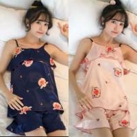 Set TanTop Import Set Baju Tidur Set CP Wanita Piyama Wanita
