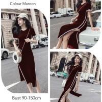 Felonita Bludru Import Dress Import Jumbo Dress Terbaru