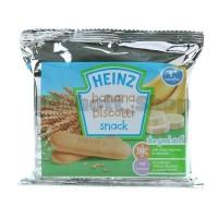 Heinz Banana Biscotti Snack Biscuit 60 gr | Biskuit Bayi rasa Pisang