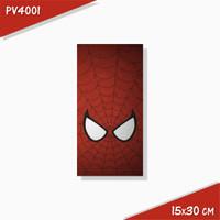 Poster Hiasan Dinding Panel Kayu Seri Spiderman 15x30 cm Koleksi 1 - PV4001