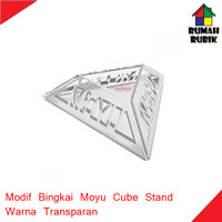 Modif Bingkai Model Moyu / Moyu Cube Stand Transparent