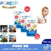 Pure Baby Liquid Cleanser Refill 700 ml (Beli 2 Gratis 1)