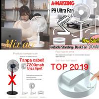 Kipas angin portable stand / Fan portbale stand 7200mah Cooling Fan P9 - P9 manual