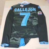 Jersey Napoli 3rd original army Longsleeve Ls pi Player Issue 2013/14