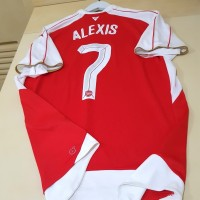 Jersey Arsenal Home 2015/16 Alexis Original Weston Size XL