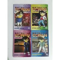 [Komik Murah] Detektif Conan No. 52, 53, 54, 55
