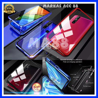 XIAOMI REDMI 7 CASE LUXURY LUPHIE MAGNETIC GLASS PROTECTION HARDCASE
