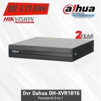 Dvr Dahua 16 Channel Pentabrid XVR1B16 Original HDCVI/AHD/TVI/CVBS/IPC