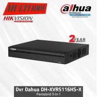 Dvr Dahua 16 Channel Pentabrid XVR5116HS-X HDCVI/AHD/TVI/CVBS/IPC ORI
