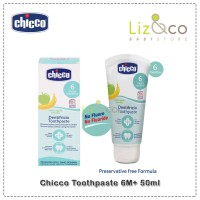 Chicco Toothpaste 6M+ 50ml
