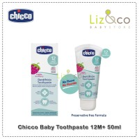 Chicco Baby Toothpaste 12M+ 50ml