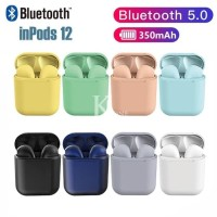 INpods ~ Headset / Earphone Bluetooth 5.0 Wireles Airpods ~ IOS / Andr