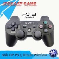STIK PS3 STICK PS 3 HITAM ORI PABRIK