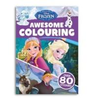 Buku Mewarnai Anak - Coloring Book - Disney Frozen Awesome Colouring