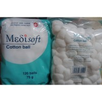 Medisoft Cotton Ball 120 balls 75 gr