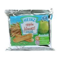 Heinz Apple Biscotti Snack Biscuit 60 gr | Biskuit Bayi rasa Apel