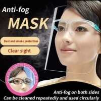 masker faceshield kacamata