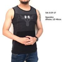 SINGLET BODY-BULL Underarmour / kaos training gym fitnes pria running