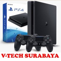 PS4 SLIM PLAYSTATION 4 BUNDLE 2 STICK DUALSHOCK PS4 GARANSI SONY INDO