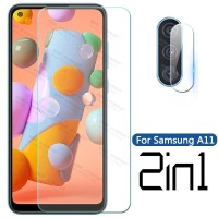 Paket Tempered Glass Clear Samsung A11 Free Anti Gores Camera