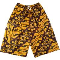 Celana Pendek Pria Motif Batik Santai Dewasa 3/4 -BTK.34