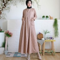 Gamis little love baby kodorai(lembut.adem)all size fit to m.L.xL