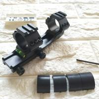 Mounting bridge skeleton / waterpass / 25mm and 30mm