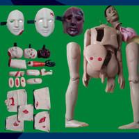 Full Body Trauma | Perawatan | Alat Peraga Phantom Manekin Model Lokal