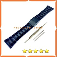 Tali Strap Watch Jam Rantai Rante Thick Stainless Steel 20 22 24 26MM