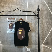 T-SHIRT BAPE MIRROR BIG HEAD LOGO IMPOR PERFECT CLONE QUALITY 1 1