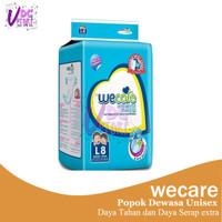 Wecare Adult Diapers L 8 - Popok Dewasa Unisex