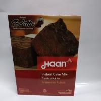 Haan Instant Cake Mix Brownies Kukus 475 Gram
