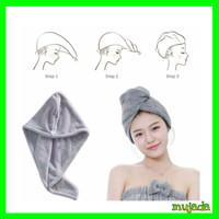 Hair Drying Towel - Magic Towel Hair Wrap Drying Cap - Ungu