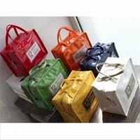 korea insulated lunch bag cooler bag tas bekal kotak makan rantang