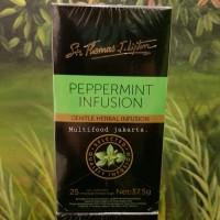 lipton peppermint infusion tea
