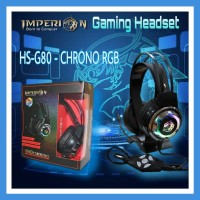 IMPERION GAMING HEADSET HS-G80 - Chrono RGB