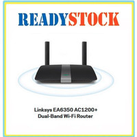 Linksys EA6350-AH AC1200 Advanced Multimedia Smart WIFI Router