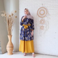 FASHION WANITA QUENNY MAXY DRESS - Late