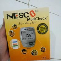Nesco multicheck 3 in 1 / alat cek gula darah / kolesterol / asam urat