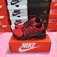 """Sepatu Nike Vapor Max Plus Red Black"""""""