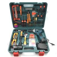 BONCHI KOPER Cordless Drill 16.8V + Toolkit Set - Bor Baterai Charger